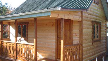 Металлический блок хаус – характеристики и преимущества