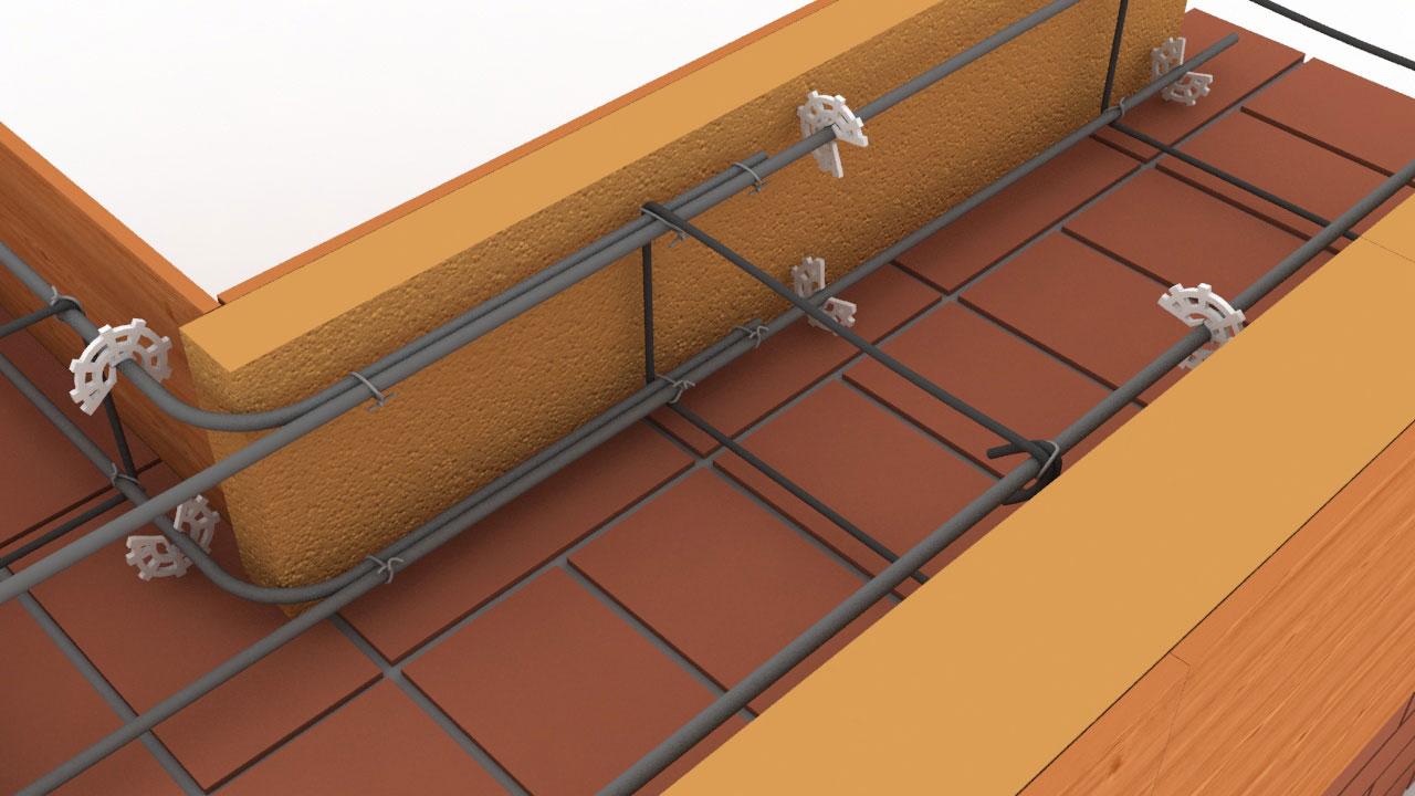 Новые технологии в строительстве - фиксаторы для арматуры
